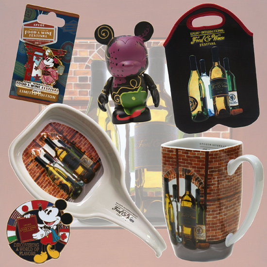 Epcot International Food &#038; Wine Festival-themed Merchandise