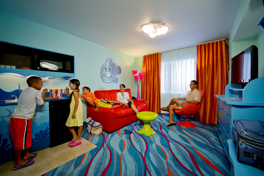 First look family suites at disney s art of animation for Great little hotels of the world