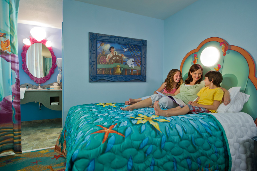 First Look Family Suites At Disneys Art Of Animation