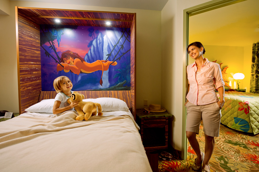 First Look Family Suites At Disney S Art Of Animation
