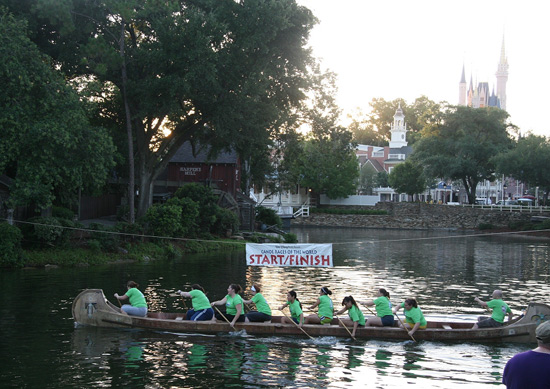 Cast Canoe Races Foster Competition and Camaraderie