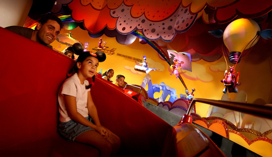 Journey Into Imagination with Figment at Walt Disney World Resort