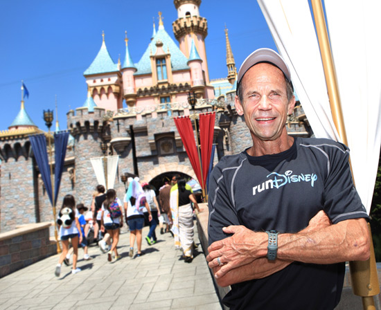 Meet-Up with Running Guru Jeff Galloway at Disneyland Resort