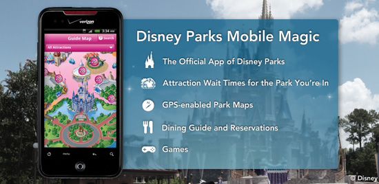 Disney Parks Mobile Magic App is Now Free