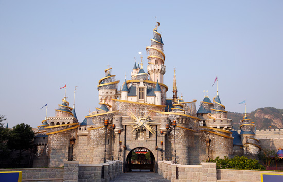 Tinker Bell Castle at Hong Kong Disneyland