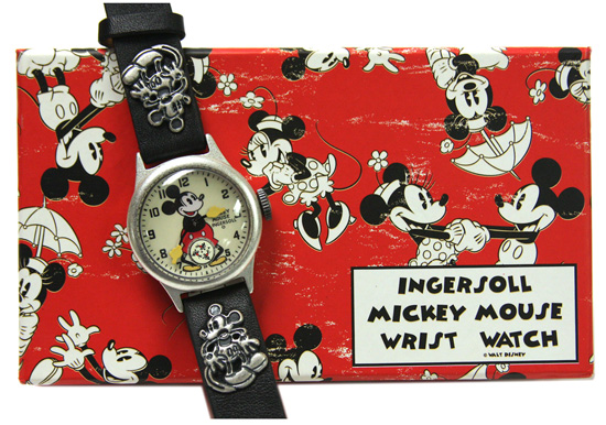 Ingersoll Mickey Mouse Wrist Watch