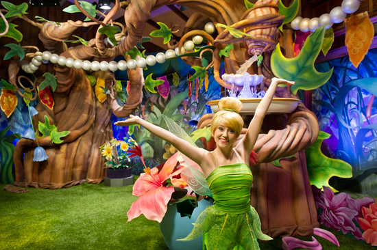 Explore Tinker Bell's Magical Nook at Magic Kingdom Park
