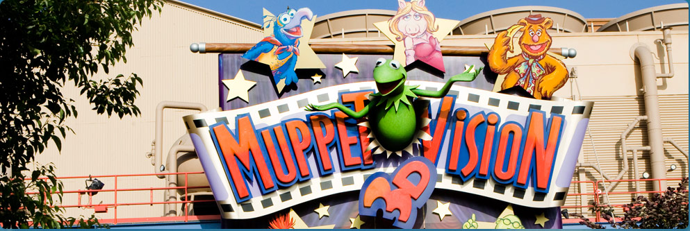 Muppet*Vision 3D at Disney California Adventure Park