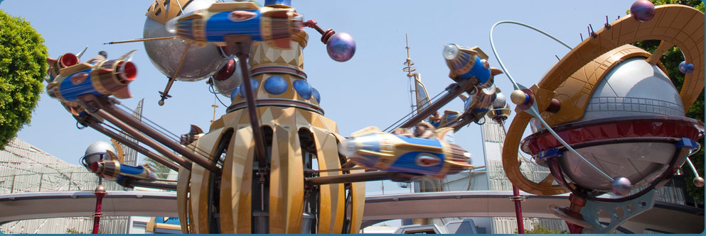 Astro Orbitor at Disneyland Park