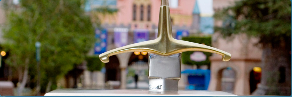 The Sword in the Stone at Disneyland Park