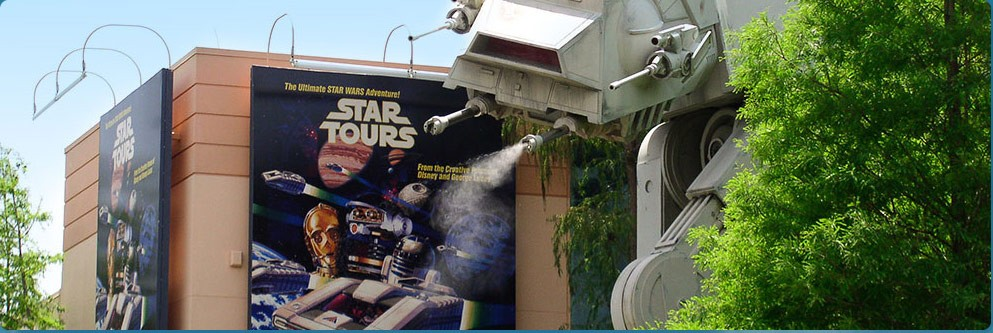 Star Tours at Disney's Hollywood Studios