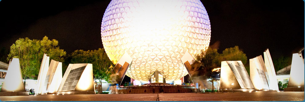 Spaceship Earth Pavilion at Epcot