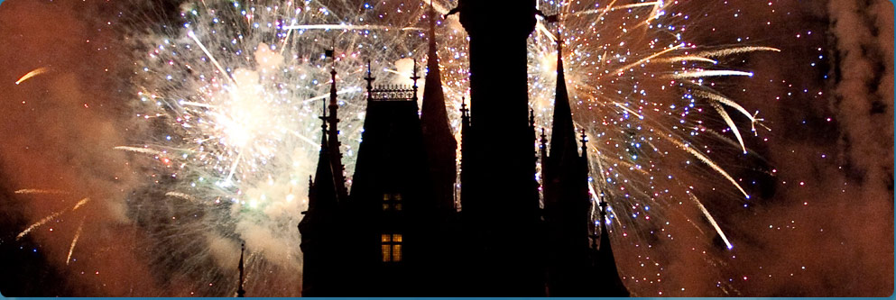 Cinderella Castle Fireworks Show
