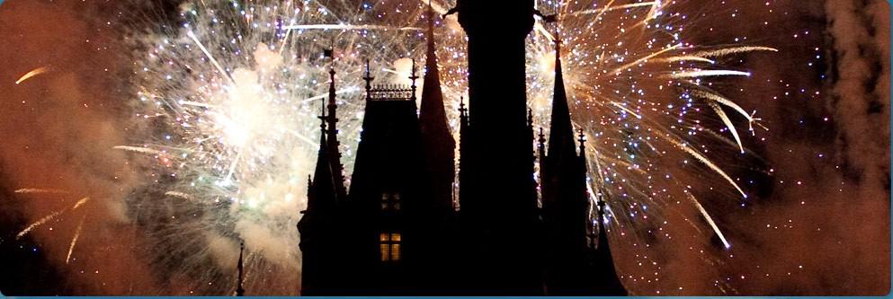 Cinderella Castle Fireworks Show