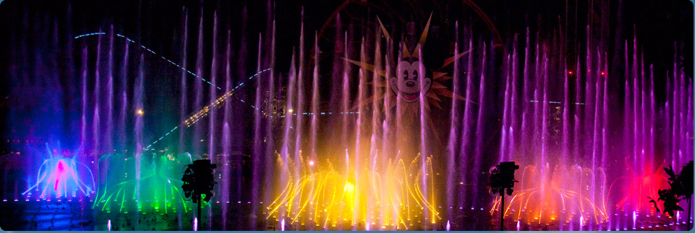 &#039;World of Color&#039; at Disney California Adventure Park
