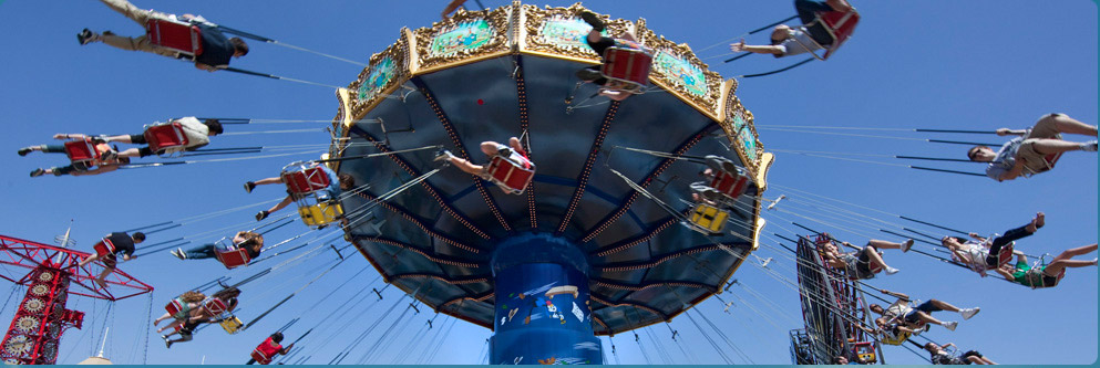 Silly Symphony Swings at Paradise Pier
