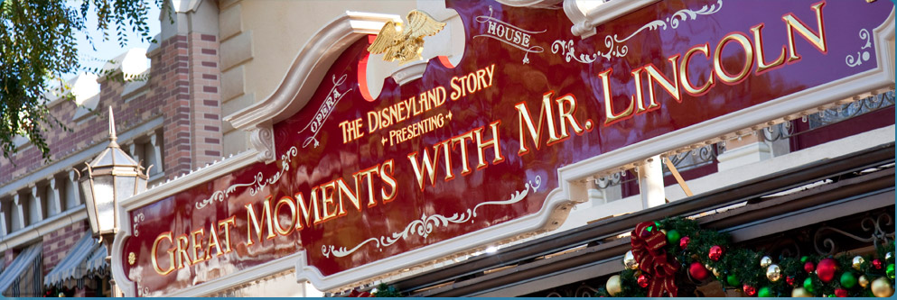 Great Moments with Mr. Lincoln at Disneyland Park