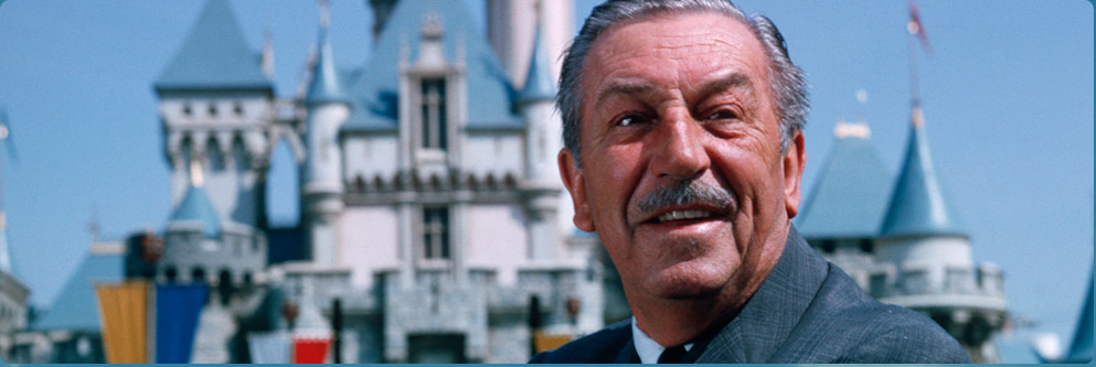 Walt Disney at Disneyland Park