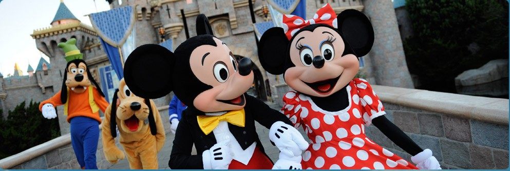 Mickey and Friends at Disneyland Park