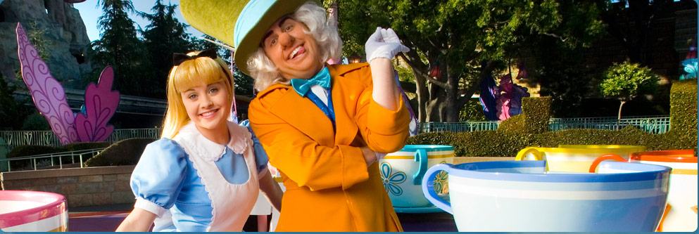 Mad Tea Party at Disneyland Park