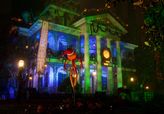 Things You Might Not Know About Haunted Mansion Holiday at Disneyland Park