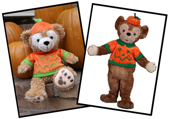 Halloween Pumpkin Duffy The Disney Bear