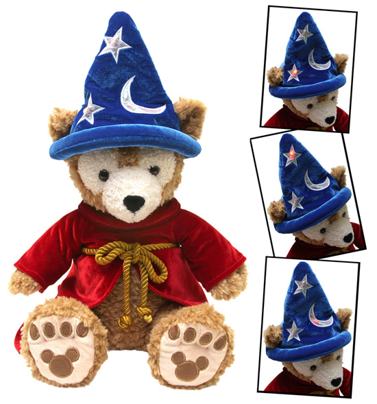 Duffy The Disney Bear in Sorcerer Mickey Costume
