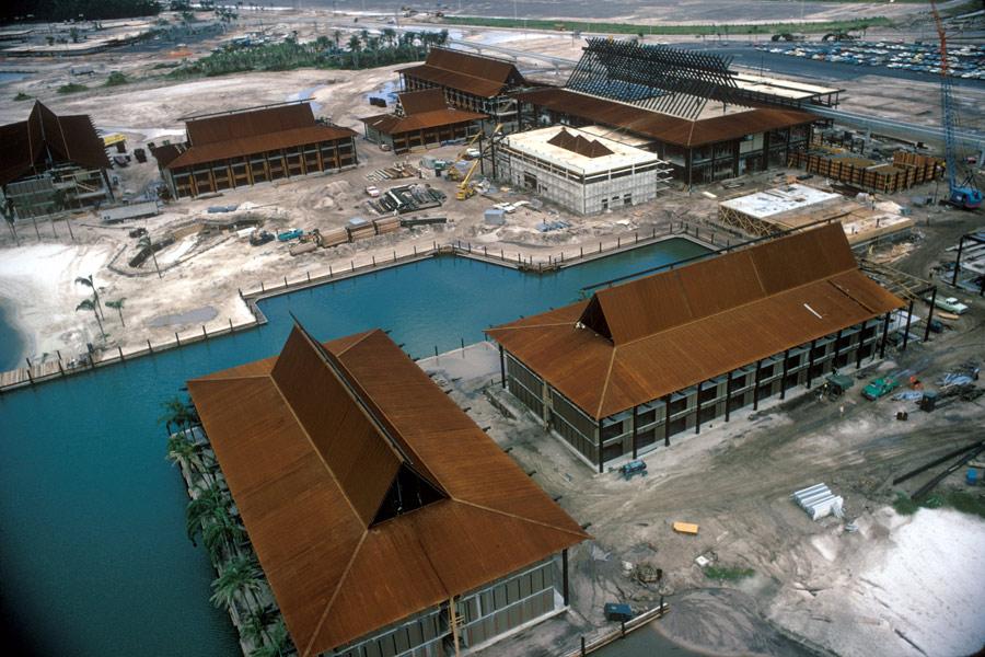 Histories Of Disney S Contemporary And Polynesian Resorts 171 Disney Parks Blog