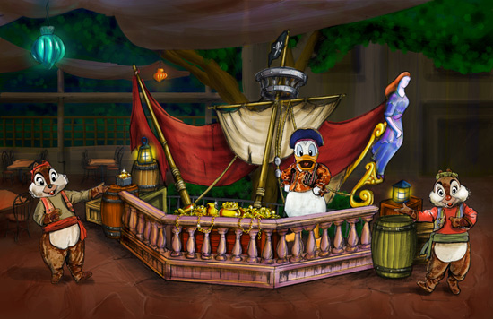 Piratepalooza Dance Party at Mickey's Halloween Party, Disneyland Park