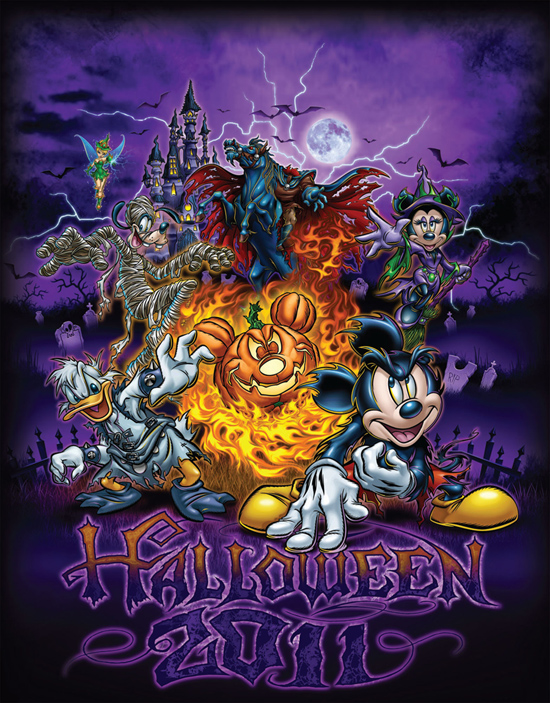 Celebrate Halloween at Disney Parks