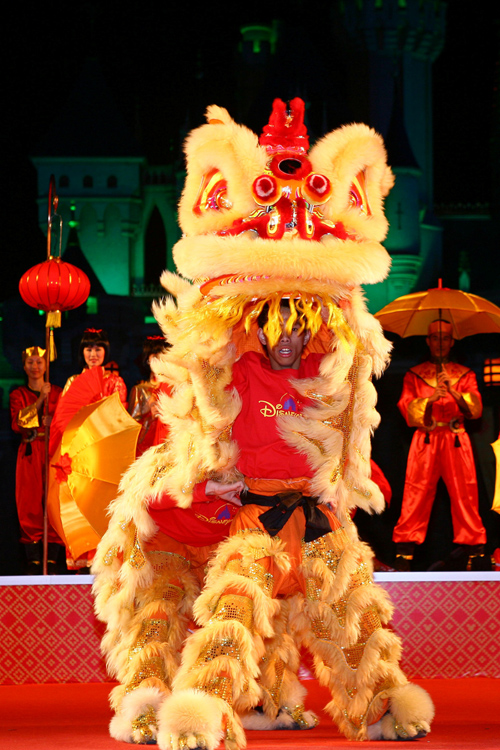 Chinese New Year Celebration at Hong Kond Disneyland