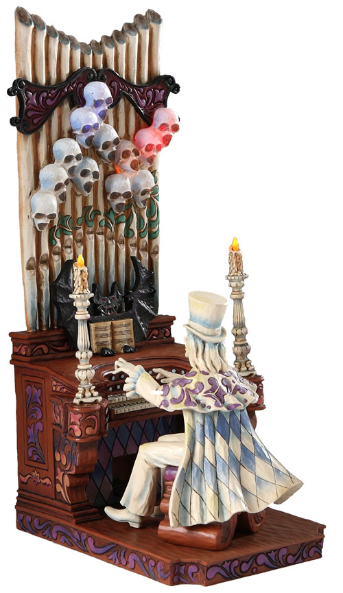 Haunted Mansion Ballroom Organist By Jim Shore for Walt Disney Worlds 40th Anniversary
