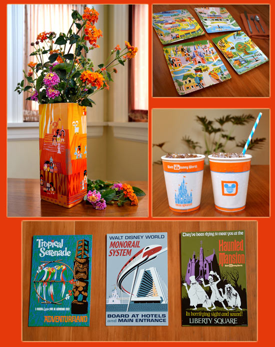 Artwork from Jody Daily and Kevin Kidney's Collection for Walt Disney World's 40th Anniversary