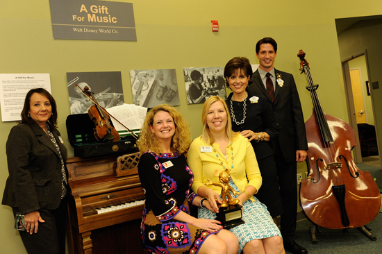 Walt Disney World Resort Supports A Gift For Music