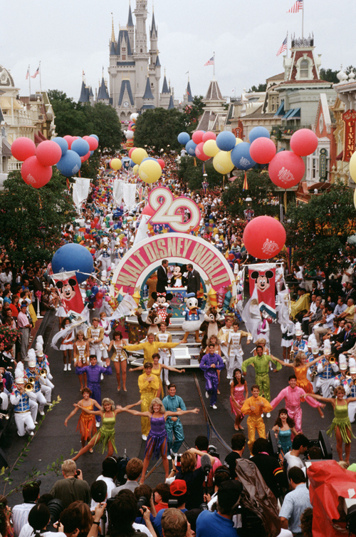 Walt Disney World a 20 ans