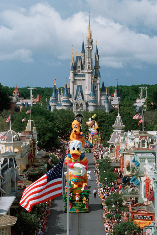 Surprise Celebration Parade at Magic Kingdom Park