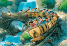 The Seven Dwarf Mine Train will whisk guests along a twisting track through a diamond mine.