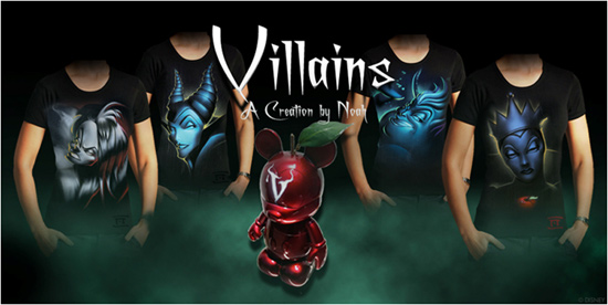 Villain Tees by Noah