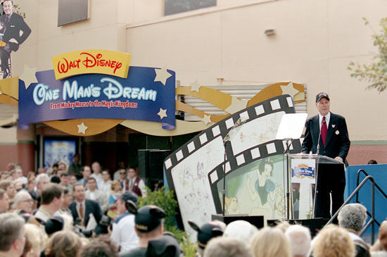 100 Years of Magic Press Event at Walt Disney: One Man's Dream at Disney's Hollywood Studios, December 5, 2001