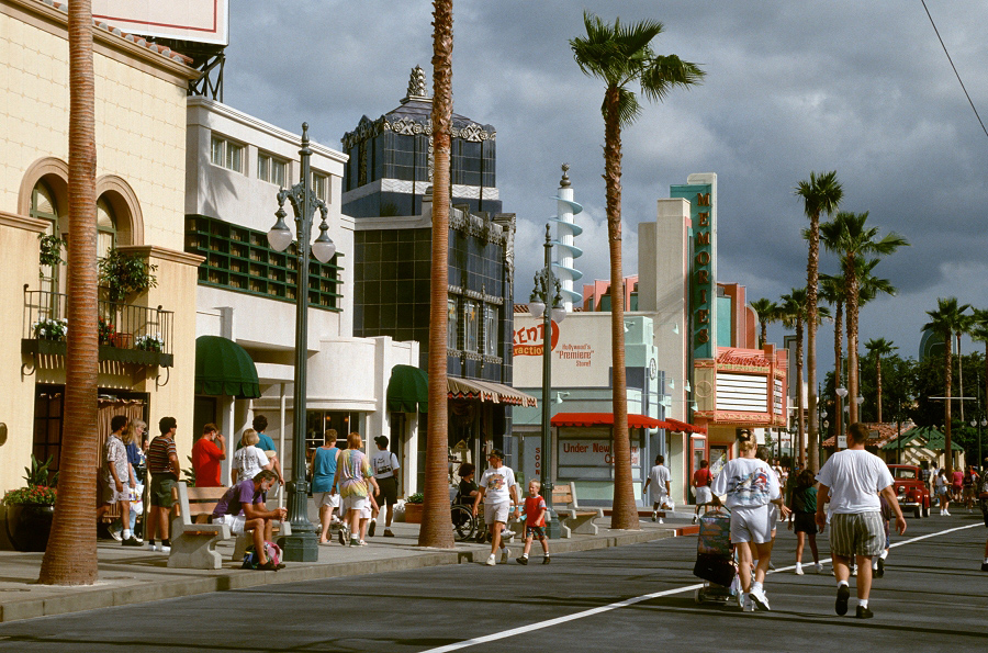 Streets of America Disney Hollywood Studios Disney's Hollywood Studios ""