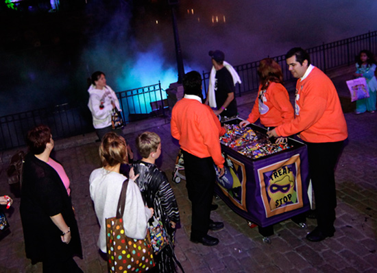Treats, Not Tricks, at Mickeys Halloween Party at Disneyland Park