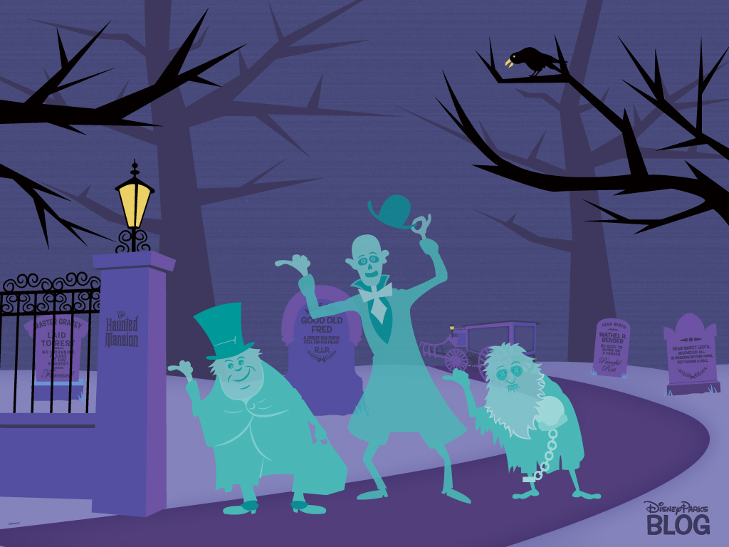 Haunted Mansion Desktop Wallpaper Want an Early Hallowee...