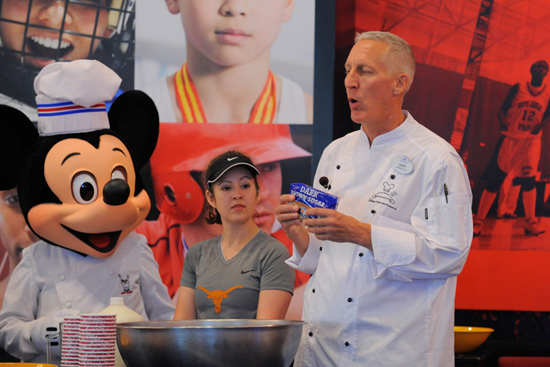 Disney Chef Gary Jones and Chef Mickey Mouse