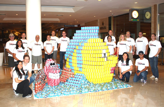 SEA the Difference a CAN Makes? Disney VoluntEARS Participate in CANstruction Competition