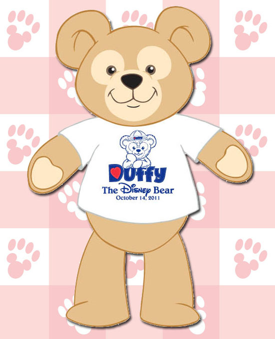 Details on Duffy the Disney Bear T-Shirt for October 14 at Disney California Adventure Park