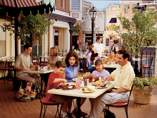 Carnation Café at Disneyland Resort