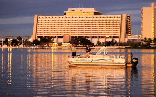 Fishing at Walt Disney World Resort's Bay Lake