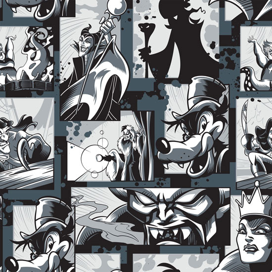 Comic Book Inspired Disney Villains Take Over Merchandise