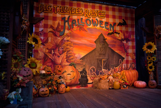 Decorations at Big Thunder Ranch Halloween Roundup