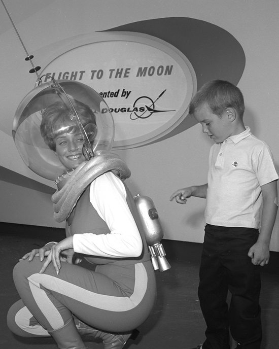 Caption This: Flight to the Moon at Disneyland Park